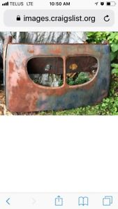 VERY RARE 1940 Ford Coupe - Original Top Back Hood Roof