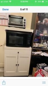 CANADIAN TIRE MICROWAVE STAND