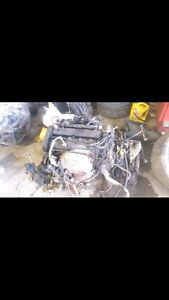 Engine with transmission. 02 03 04