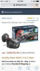 Hydor Koralia 4 circulation pump