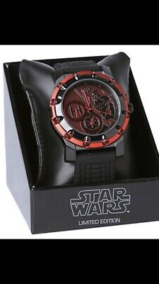 RARE New Limited Edition Star Wars Stainless Steel Watch *Darth Vader*