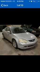 Parting out 2003 Acura rsx