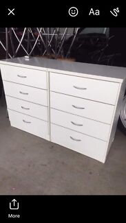 2xBedside tables great condition