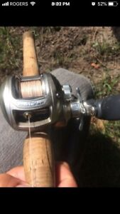 Bass Pro baitcasting combo for sale/trade