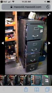 Metal filing cabinet for sale