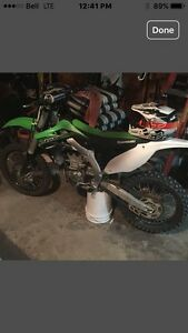 2015 Kawasaki kx 450f under 25 hrs