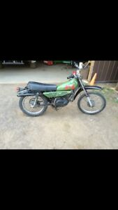 1982 Yamaha dirt bike