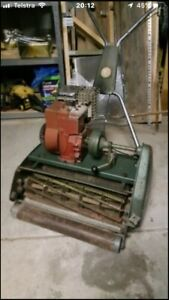 Wanted: Scott bonnar reel mower