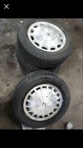 Honda accord 92-98 OEM wheels and winter tires