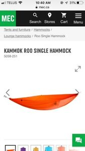 Lost orange hammock