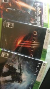 Three Xbox 360 games if want please message