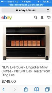Natural gas New heater. Erina Gosford Area Preview