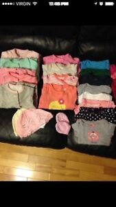 Baby girl clothes (nb&0-3 months)