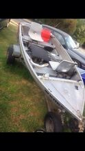Tinny trailer and outboard $1500 Ingle Farm Salisbury Area Preview