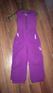 Girls Spyder Snowpants