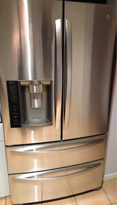 LG 610L Stainless Steel 4 Door Fridge (GR-L219CSL) Oxley Brisbane South West Preview
