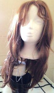 Golden Brown Heat Resistant ladies wig Mulgrave Monash Area Preview