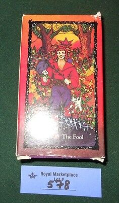 The Sacred Rose Tarot Deck 1982 Vintage Cards Made in Switzerland By AGM