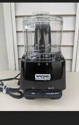 Waring Comercial 2.5 Qt Food Processor Vcm1000pe