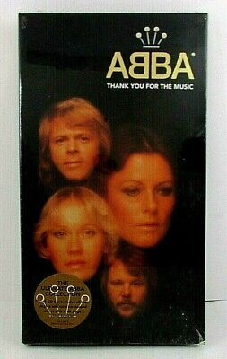 ABBA, THANK YOU FOR THE MUSIC, 4-CD Set, 66-Page Booklet, Polydor (1995) Sealed