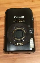 Canon Digital IXUS 980 IS Camera - Black - 14.7 MP Mitcham Whitehorse Area Preview