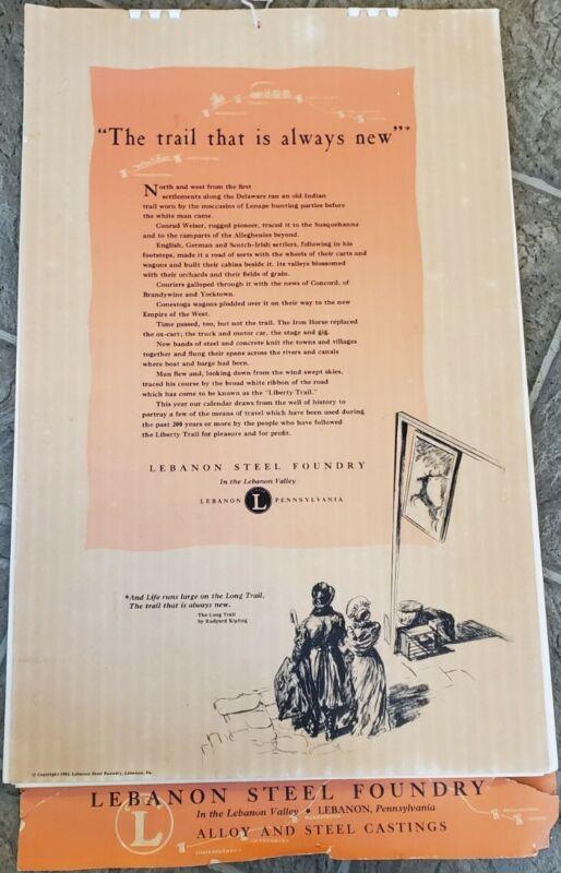 Florence Starr Taylor Charcoal Illustrations Prints Lot Calendar 1953 Steel Co