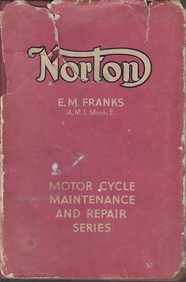 NORTON 16H BIG 4 18 19 20 ES2 CS1 CJ 30 & 40 INTERNATIONAL 1932-48 REPAIR MANUAL