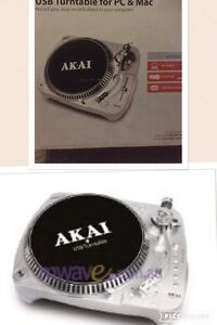 Akai record turntable pc /  Mac Glenmore Park Penrith Area Preview