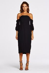 Brand New Maurie and Eve Bleeding Heart Dress in Black, Size 8 Lutwyche Brisbane North East Preview