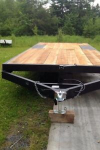 20x8' Flat Deck Trailer-Newly constructed