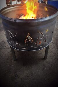 Fire pit drum Willetton Canning Area Preview