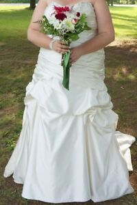 Plus size 26 wedding dress