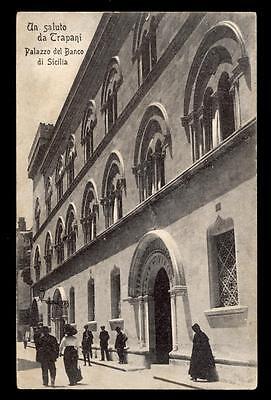 TRAPANI un saluto da - palazzo del banco di sicilia