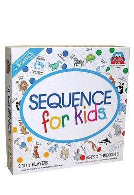 Sequence for Kids Board Game New SEALED Great For Toddlers! (Board Games For Toddlers)