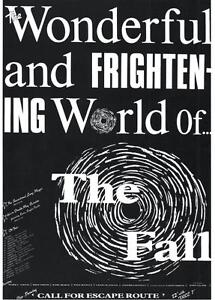 FALL  POSTER. Wonderful and Frightening World of the Fall