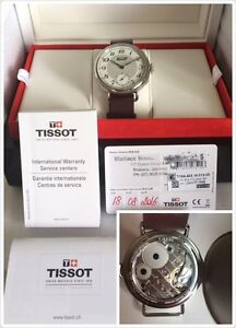 RRP******2016 TISSOT 1936 HERITAGE MANUAL WINDING MECHANIC SWISS WATCH Varsity Lakes Gold Coast South Preview
