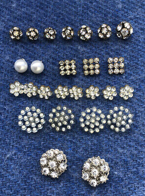 Job Lot Of Vintage Sparkly Beads And Buttons