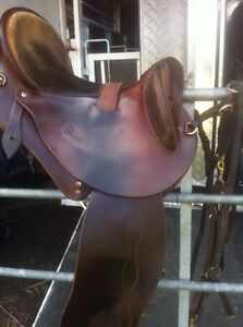 """16"""" Toowoomba Stockmans Saddlery close fit Drafter $1600 FIRM Forest Hill Lockyer Valley Preview"""