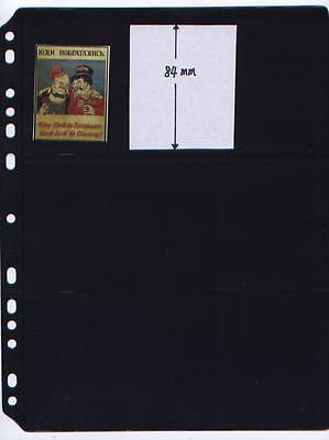 ANCHOR 25 Stock Pages (Sheets) 3 S for Matchbox Labels, Stickers, Notes, Cards.