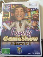 Wii game - Family GameShow Kotara South Lake Macquarie Area Preview