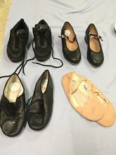 Various Sizes of Girls Ballet / Jazz / Tap Shoes Wallsend Newcastle Area Preview