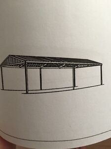 12x12x3m carport/shed Crows Nest Toowoomba Surrounds Preview