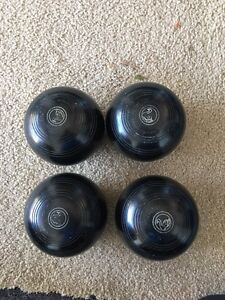 Lawn Bowls set of 4 Wallsend Newcastle Area Preview