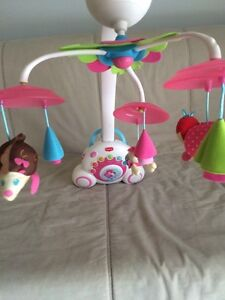 Fisher Price baby girl mobile Bligh Park Hawkesbury Area Preview