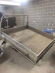 Toyota hilux aluminium tray dual cab Ashfield Ashfield Area Preview