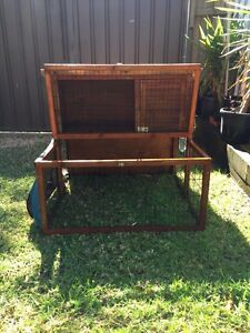 Rabbit, Guinea pig  hutch and accessories Punchbowl Canterbury Area Preview