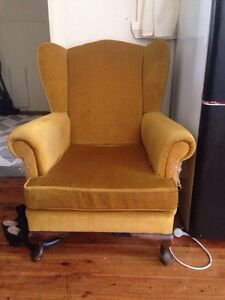 Vintage wingback armchair North Narrabeen Pittwater Area Preview