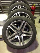 Holden commodore ve ss wheels and tyres Heathcote Sutherland Area Preview