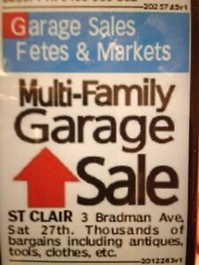 Multi family Garage Sale St Clair Penrith Area Preview
