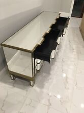 Mirrored Buffet Table Cecil Hills Liverpool Area Preview